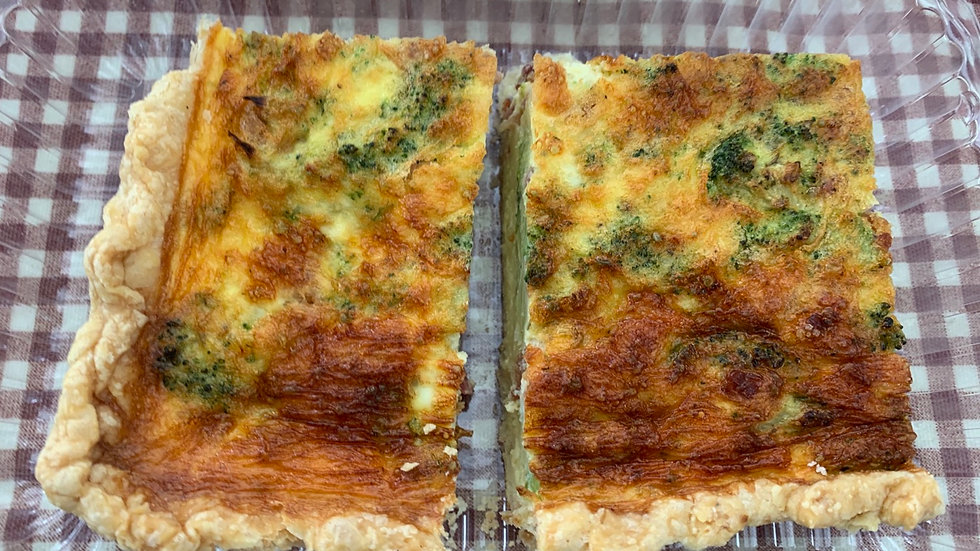 2 Pack Squares of Quiche