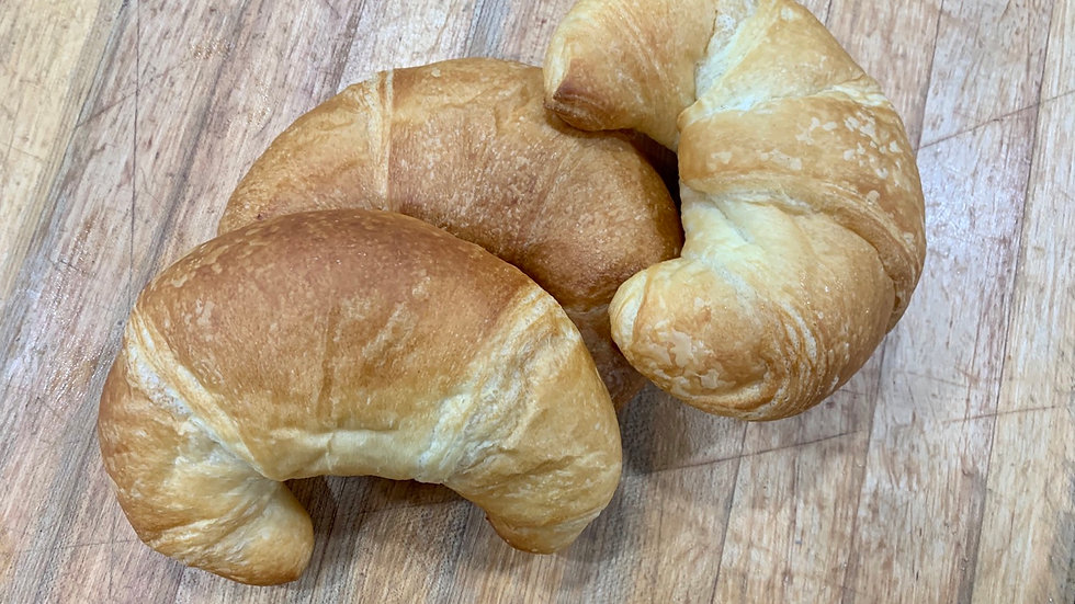 3 Pack of Butter Croissants
