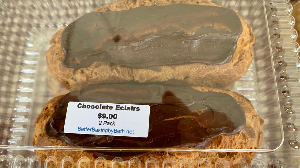 2 Pack of Eclairs