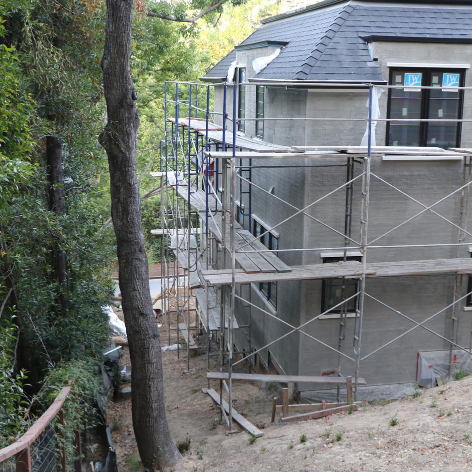 Kentifield House Framing