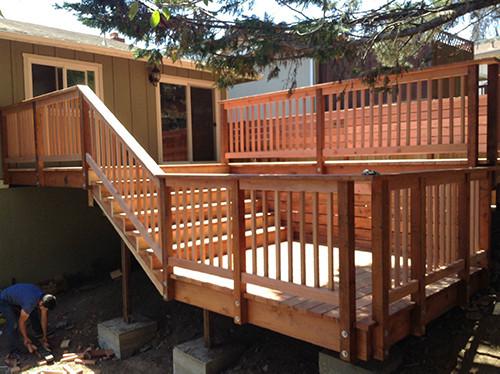San Bruno Deck Remodel