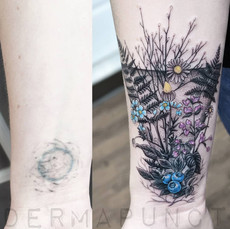 coverup tattoo, vintage tattoos, dermapu