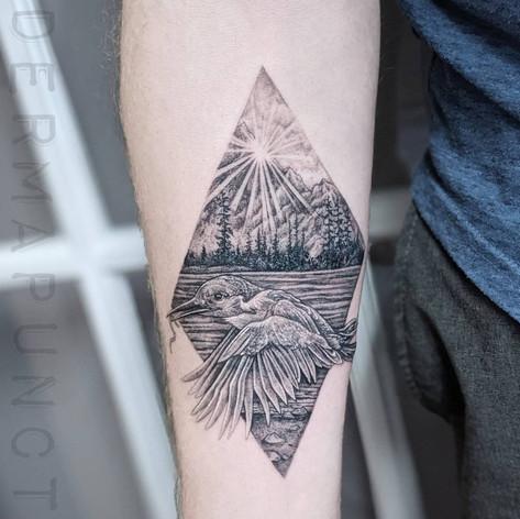 kingfisher tattoo, dermapunct.jpg