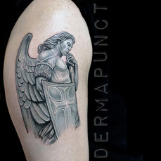 best st michael tattoos, dermapunct