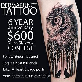 instagram contest owl, dermapunct.jpg