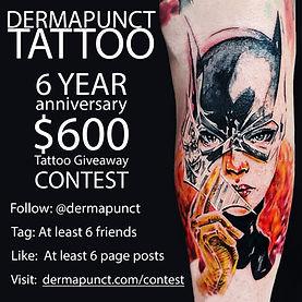 instagram contest batgirl, dermapunct.jp