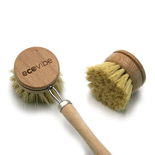 EcoVibe Wooden Dish Brush