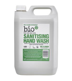 Bio-D Lime & Aloe Vera Sanitising Hand Wash (5L).jpg
