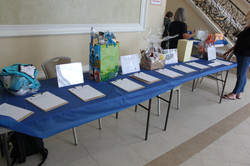 Silent Auction Is Ready