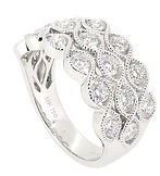 Art Deco - URG0041 Diamond ring with 18K