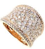 Spring - URG0265 Diamond ring with 18K r