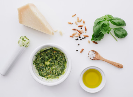 Healing Homemade Pesto Chicken