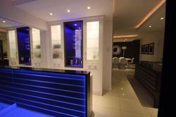 Bar Area with LED lighting