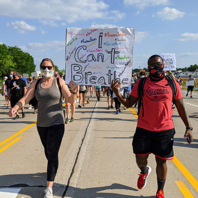 Francis Howell School District hosts BLM march seven years after Normandy District debacle
