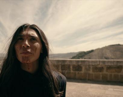 """""""Warrior Nun"""" Star Lorena Andrea Dishes On Quarantine, Epic Fight Scenes, And Representation"""