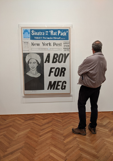 """""""Andy Warhol—From A to B and Back Again"""" at the Art Institute of Chicago"""