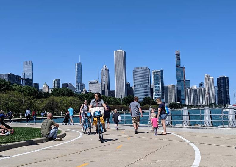 Chicago Lakeside Walk