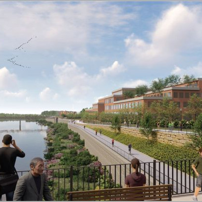 What is the Riverpointe project in St. Charles?