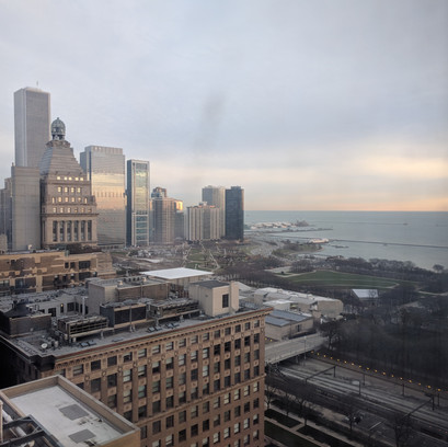 A picture worth a thousand words: leaving Chicago for the first time
