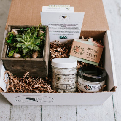 With The Giving Sprout, two Washington women are making gift boxes eco-friendly