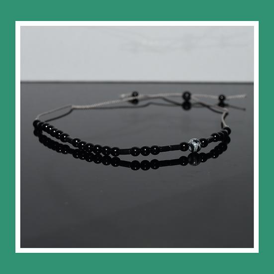 ONYX STYLE Silk Cord Bracelets