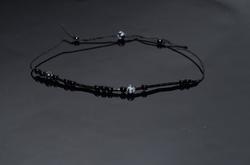 Onyx Style Silk Cord Bracelet