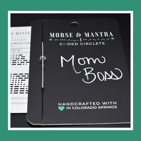 Mom Boss | Classic Style Silk Cord Bracelet