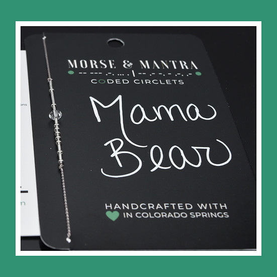 Mama Bear | Classic Style Silk Cord Bracelet