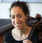 Anna Steinhoff and her cello