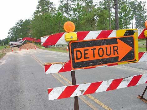 Caution: Detour Ahead