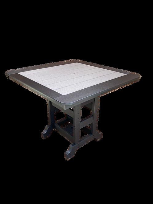 """Square Table- 44"""" W/ BORDER"""