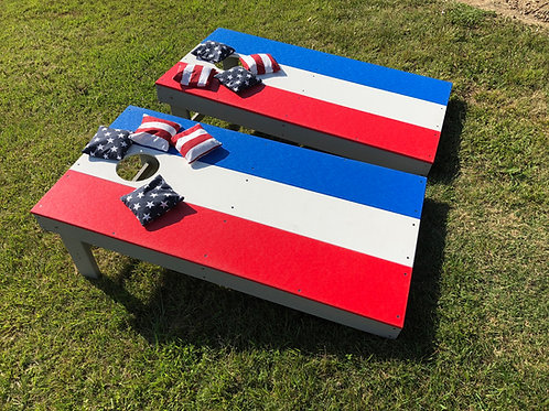 GAME SET CORN HOLE BOARDS
