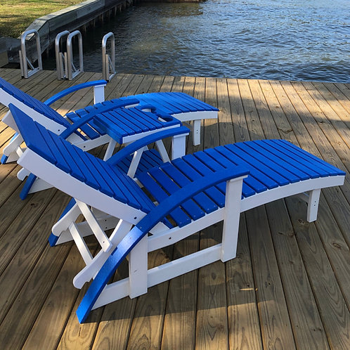 Patio Chairs- CHAISE LOUNGER