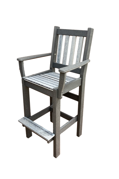 Patio Chair- Modern With Arms
