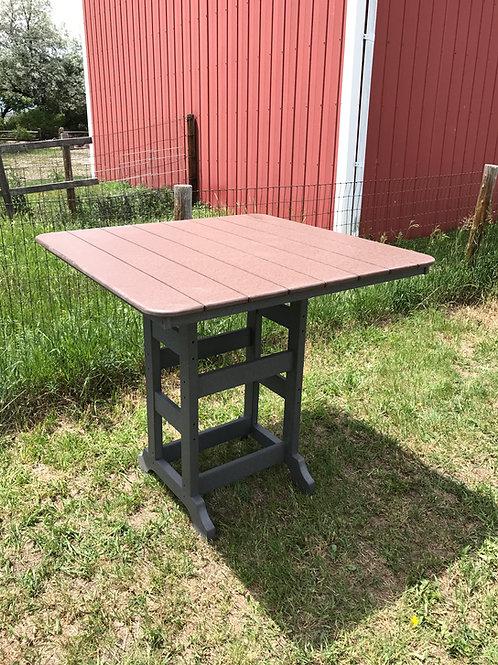 """Square Table- 44"""" W/O BORDER"""