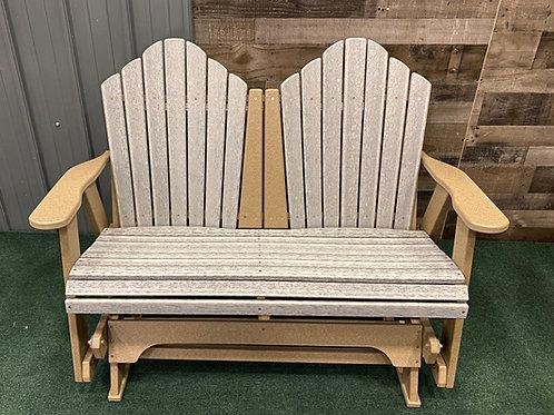 Glider Bench- 4' LOVE SEAT