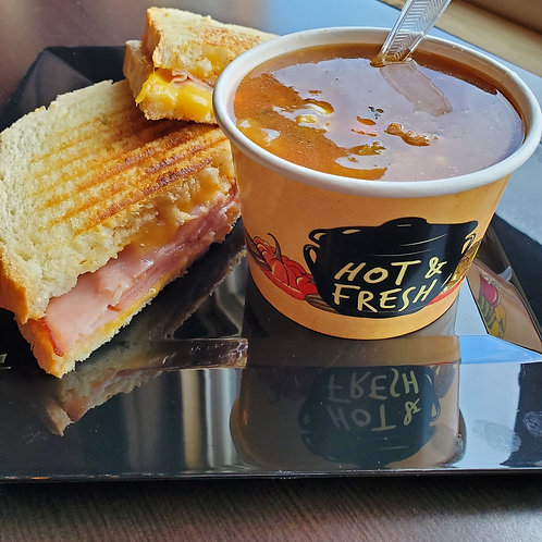 Whole Panini with Soup