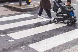 What are the different types of Pedestrian crossings and how to approach them?