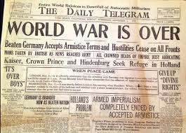 Who won the First World War(1914-1918)?