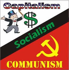 Difference between Socialism, Communism, and Capitalism.