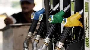 How is Petrol stored in Petrol pump?