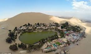 What is an Oasis and how is it formed?