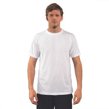 A1SJBB White front  photo sizes XS S M L