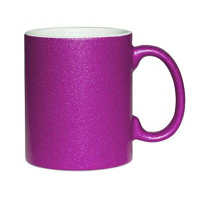 tasse glitter violet