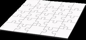 Subliprint puzzle bois