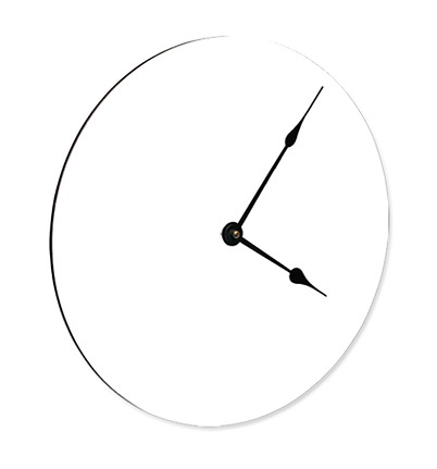 subliprint horloge ronde