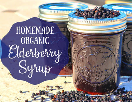 Homemade Organic Elderberry Syrup to Boost Your Immune System
