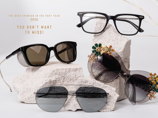 The best eyewear in the past year 2020 you don't want to miss!
