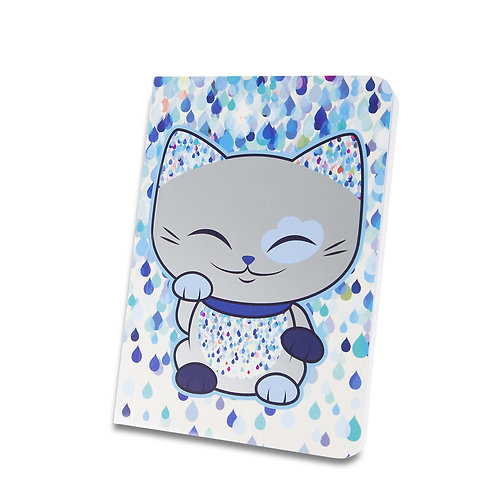Mani the Lucky Cat - Notebook