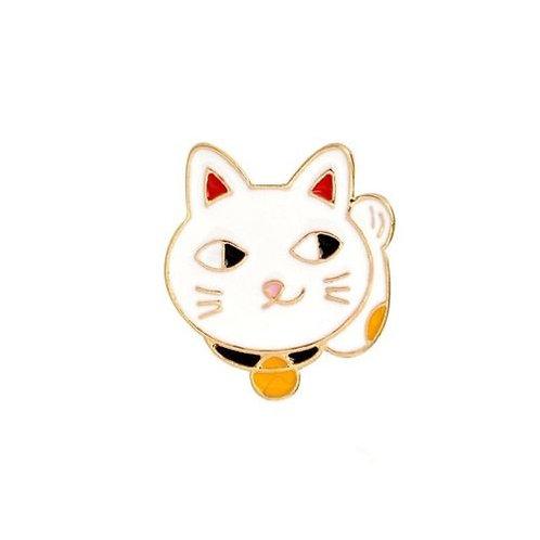 Lucky Cat Kawaii Pin